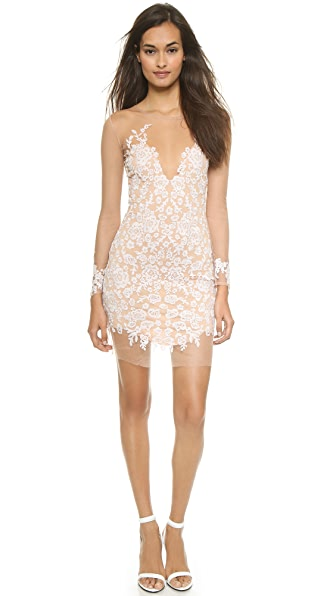 Kupi For Love & Lemons haljinu online i raspordaja za kupiti For Love & Lemons Luau Mini Dress White/Nude online