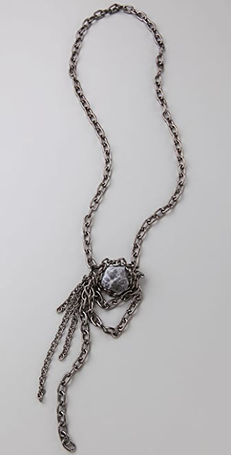 flutter by Jill Golden Dragon Necklace