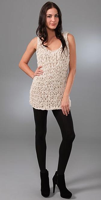 Foley + Corinna Norma Crochet Tunic