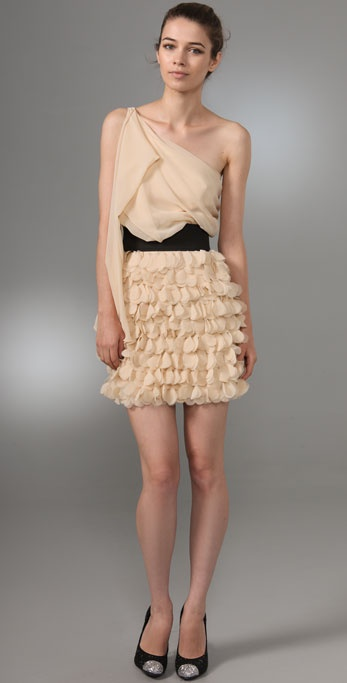 Foley + Corinna Asymmetrical Party Dress