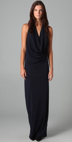 Foley + Corinna Cowl Neck Gown