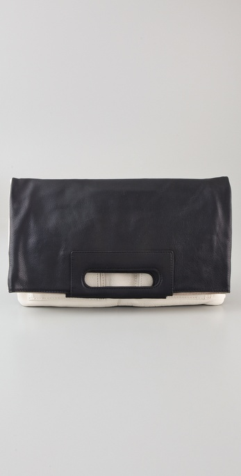 Foley + Corinna Colorblock Oversized Clutch / Tote