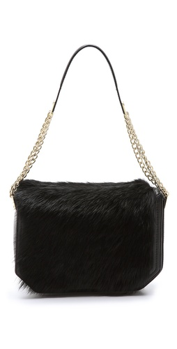 Foley + Corinna Plated Shearling Shoulder Bag at Shopbop / East Dane