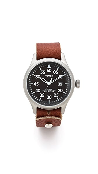 Form Function Form Button Stud Minute Man Watch