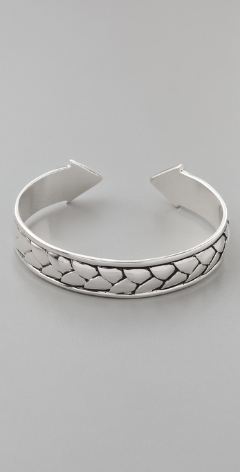 Fortune Favors the Brave Braided Open Cuff