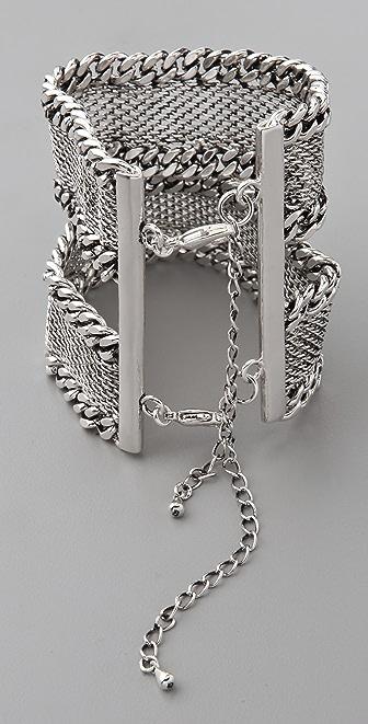 Fortune Favors the Brave Flat Chain Bracelet