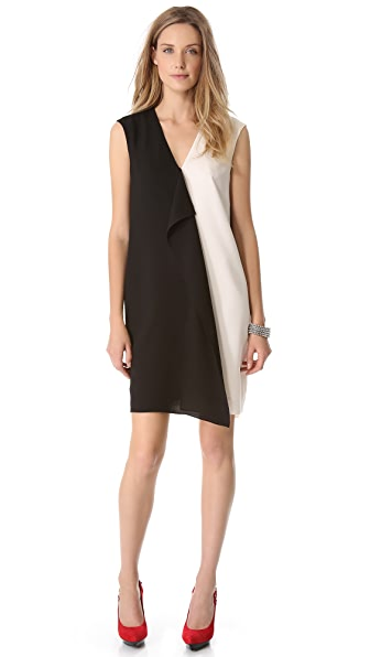 4.collective Colorblock Drape Dress