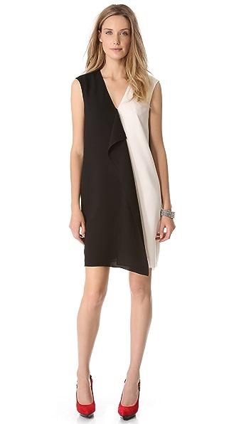 4.collective Colorblock Drape Dress