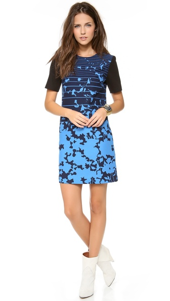 4.collective Short Sleeve Shift Dress
