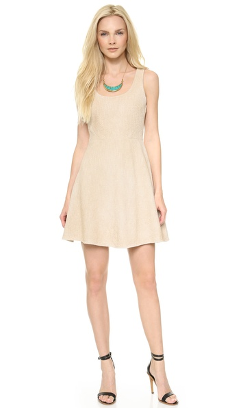 4.collective Spring Tweed Flirty Dress