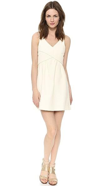 4.collective Cross Wrap Flirty Dress