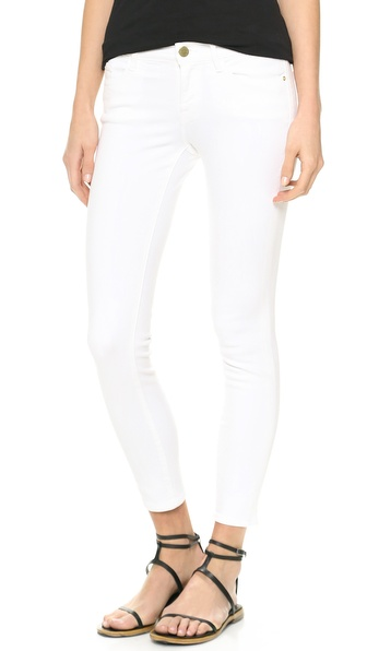 FRAME Denim Le Color Cropped Skinny Jeans