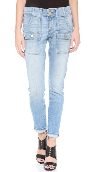 FRAME Denim Le Garcon Patch Pocket Jeans