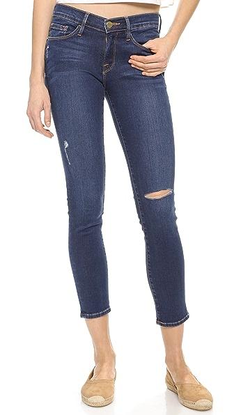 FRAME Le Skinny Crop Jeans