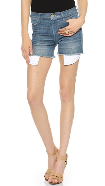 FRAME Le High Rise Shorts