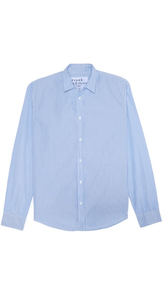 Frank & Eileen Narrow Stripe Sport Shirt