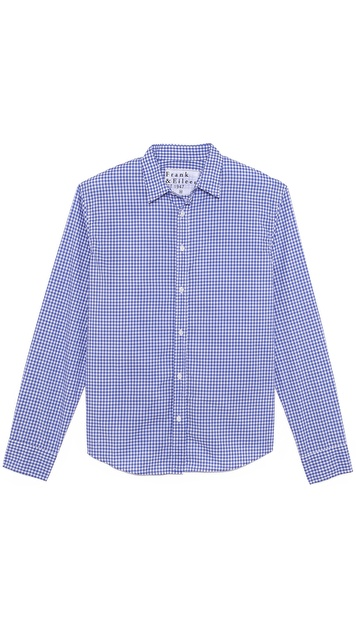 Frank & Eileen Paul Gingham Shirt