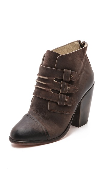FREEBIRD by Steven Malbec Monk Strap Booties