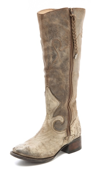 Freebird By Steven Berlin Western Tall Boots - Taupe at Shopbop / East Dane