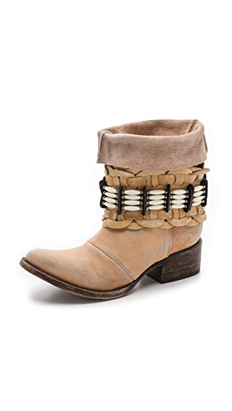 FREEBIRD by Steven Barracuda Embellished Booties