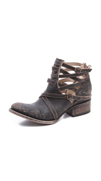 FREEBIRD by Steven Stairway Wrap Strap Booties