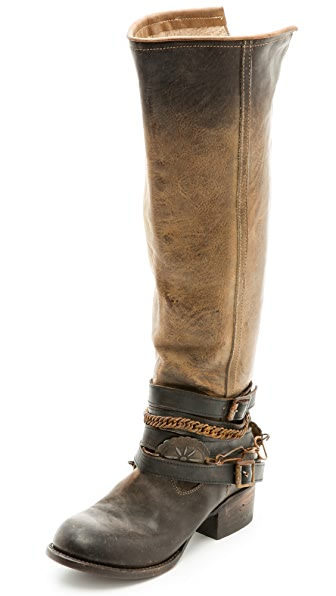 FREEBIRD by Steven Aspen Wrap Strap Booties