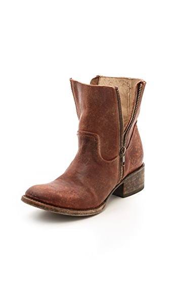 FREEBIRD by Steven Austin Double Zip Booties
