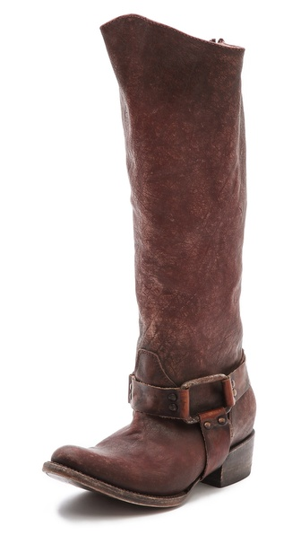 Freebird By Steven Philly Harness Boots - Rust at Shopbop / East Dane