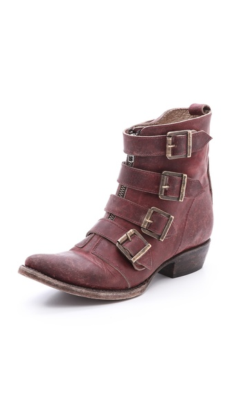Freebird By Steven Skelter Boots - Red at Shopbop / East Dane