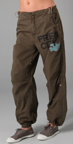 FREECITY Convertible Maharishi Twill Pants