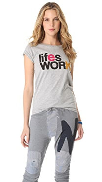 FREECITY Life's Work Tee