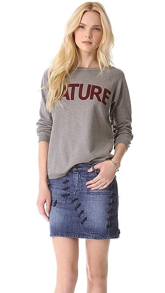 FREECITY Nature 3/4 Sleeve Sweatshirt