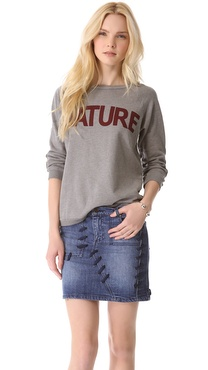 FREECITY Nature 3/4 Sleeve Sweatshirt