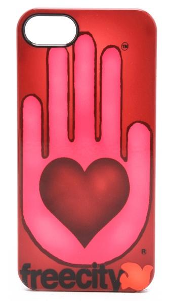 FREECITY Giant Open Hand iPhone 5 / 5S Case