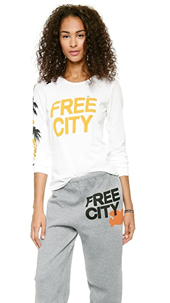 FREECITY FREECITY Japan Long Sleeve Tee