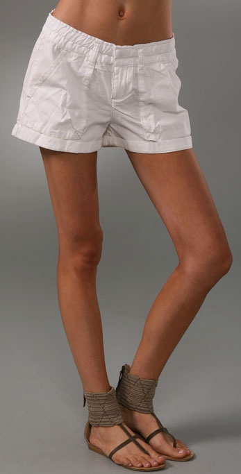 Free People Poplin Cargo Shorts