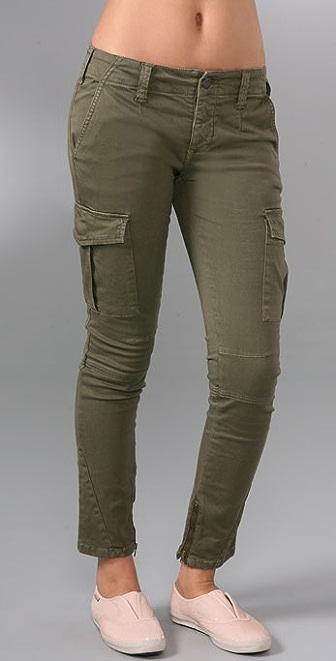 Free People Skinny Military Pants