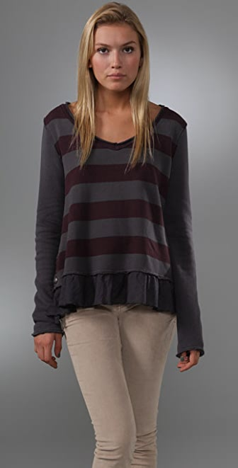 Free People Ruby Stripe Apple Orchard Top
