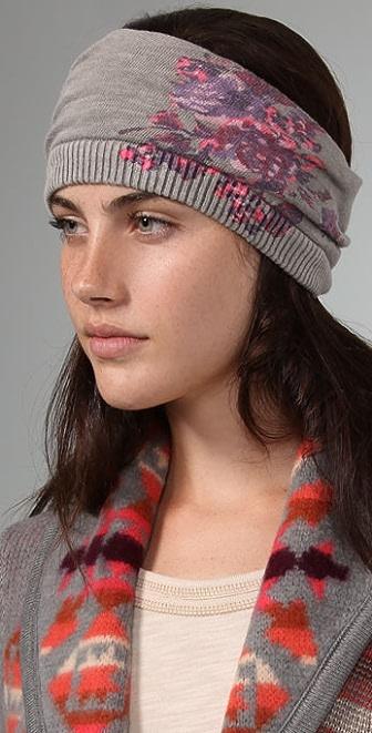 Free People Roseprint Mobius Headband