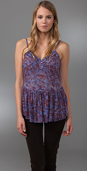 Free People Pinwheel Perfection Tank