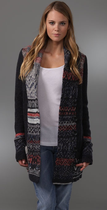 Free People Jiffy Bit Cardigan