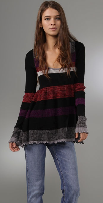 Free People We The Free Stripe Sweater