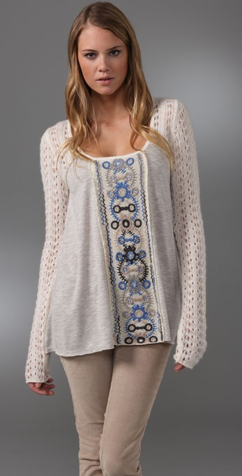 Free People Kaleidoscope Top