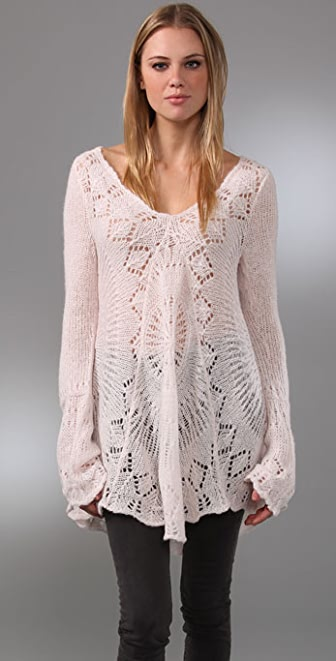 Free People Round About Sweater