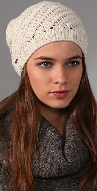 Free People Twisted Slouchy Beanie