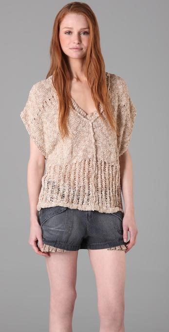 Free People Jitterbug Pullover Sweater