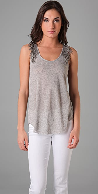 Free People Tassel Flower Dance Tank