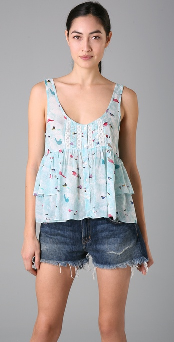 Free People Boxy Bird Tank