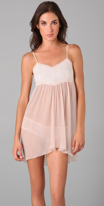 Free People Pleated Mesh Slip