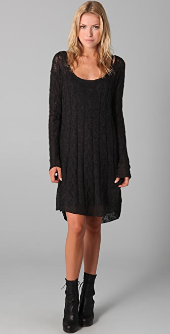 Free People Angel Mohair Sweater Dress